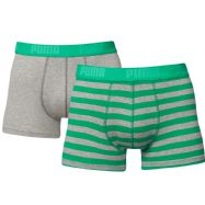 Puma Mens Stripe Boxers - Pack of 2